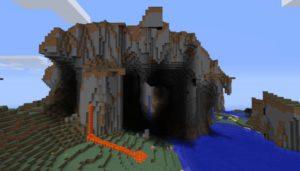 colline extreme dans minecraft