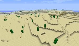 desert dans minecraft