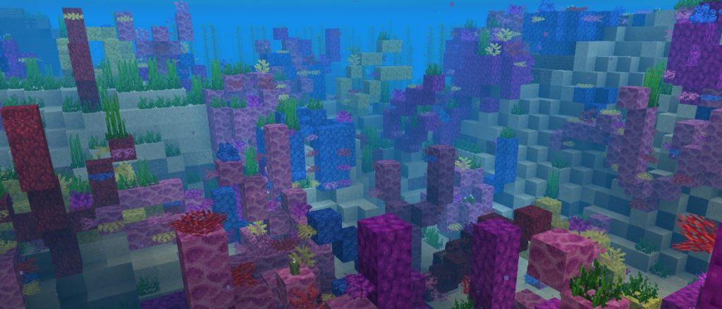 ocean dans minecraft