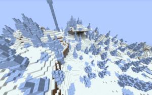 plaine glaces dans minecraft